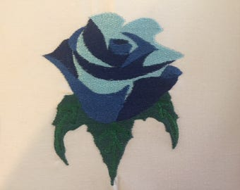 Multi Blue Rose,Embroidery Rose,Embroidery Downloads,Instant embroidery downloads, flower embroidery designs,Roses embroidery Designs