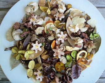 Field of Daisies Country Potpourri, Rustic, Saltdough, Room Scent, Spring Potpourri, Summer Potpourri, Floral, Refresher Oil Included
