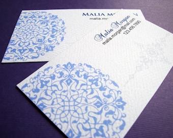 Business Card, Custom Business Card - Set of 50
