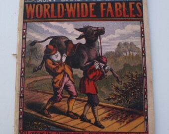 1874 - World-Wide Fables - McLoughlin Brothers Publishers New York - 1874 (ca.)
