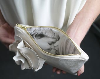 Mother of the Bride Gift | Gift For Mom | Personalized Clutch | Wedding Purse | Photo Clutch | Personaized Bridesmaids Gifts