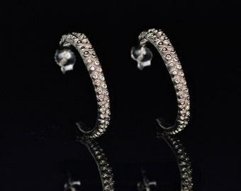 SALE - Tentacle Earrings, 14K Gold, Octopus Earrings,  Octopus Jewelry - OctopusME Hoop Earring