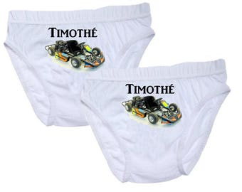 Pants boys Kart personalized with name