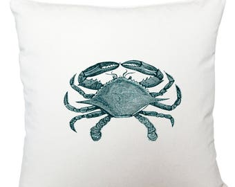 Cushions/ cushion cover/ scatter cushions/ throw cushions/ white cushion/ crab cushion cover