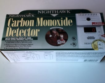 new nighthawk carbon monoxide detector 120v rotating plug