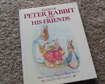 Beatrix Potter Tales of Peter Rabbit and His Friends, Thirteen Stories, 1984 Edition