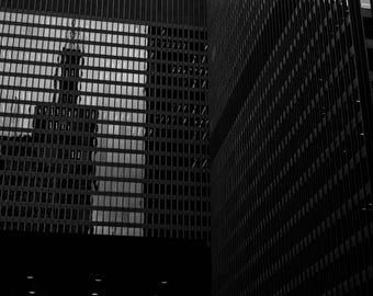 Chicago Black and White Photographic Print