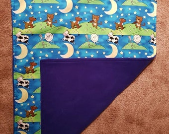 Baby blanket hey diddle diddle play mat