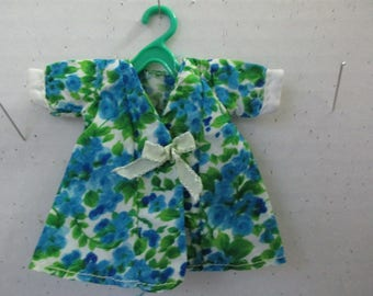 Green Blue Silky Top for 8 inch Doll Ginny Muffie Pam by British Crown Hong Kong
