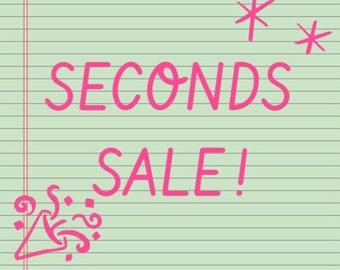 Seconds Sale Pins