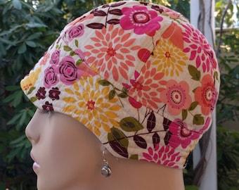 Cancer Cap ON SALE Sun Hat Hair Loss Hats Cotton Hat Reversible    Small/Medium