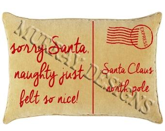 Sorry Santa Letter