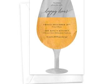 Wein Verkostung Party-Einladung Wein und unnötig Dinner