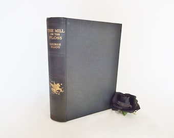 The Mill on the Floss by George Eliot / 1933 Daily Express Publications London / Hardback in Good Condition