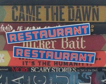 Seinfeld Restaurant Sticker