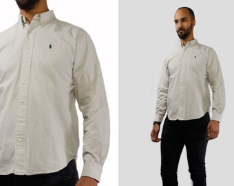 Ralph Lauren Shirt / Ralph Lauren Herren / Vintage Shirt Männer / Designer  Shirt Männer Männer