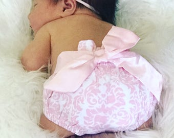 Baby cotton diaper cover/ bloomer