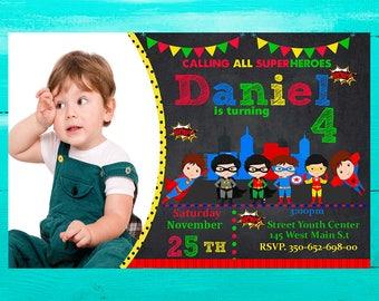 Super Hero Invitation, Super Hero Birthday, Super Hero Party, Super Heroes, Super Hero party Birthday
