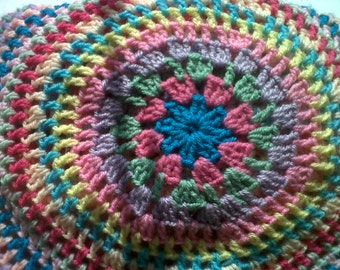 Large Crochet afghan or throw. In stock and ready to post