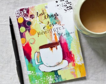CARD - Love, Adventures, and Coffee