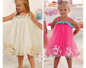 Mud Pie Princess Birthday Dress