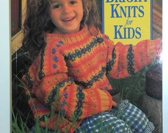 Bright Knits for Kids: Over 25 Innovative Designs for Infants to Six-Year-Olds Paperback 1998 Knitting Pattern Book by Debbie Bliss