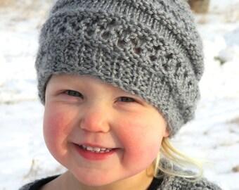 KNITTING PATTERN  Hat - PDF knitting pattern hat - knit pattern baby hat - knit pattern toddler hat