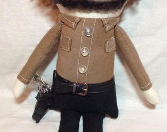 Rick Grimes - Inspired by TWD - Creepy n Cute Zombie Doll (D)