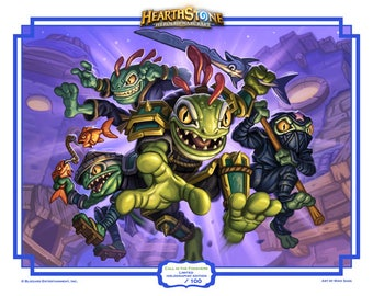 Hearthstone: Call in the Finishers print-holographic!