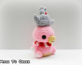 Crochet Slowking Inspired Chibi Pokemon