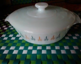 Fire King 1 quart Baking dish / Anchor Hocking Baking Dish / Bake ware