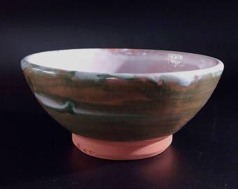 Ceramic bowl Handmade pottery bowl Breakfast bowl Dinnerware wheel thrown Japanese Design