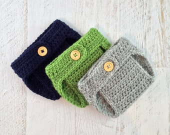 Diaper Cover Set, Baby Diaper Cover, Crochet Diaper Cover, Photo Shoot, Crochet Photo Prop, Baby Boy Diaper Cover, Baby Girl Diaper Cover