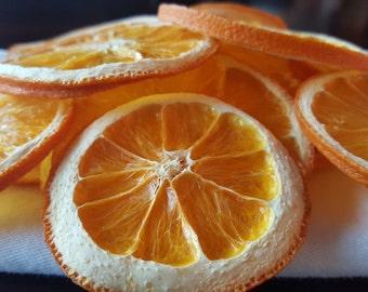 Tranches d'oranges séchées bio | Ornement d'agrumes | Potpourri | Sachet | Décoration | Guirlande | Primitive