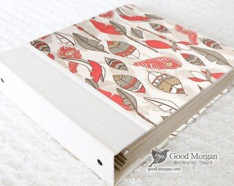 Toddler Memory Book  - Feathers