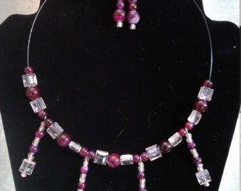 summer evening necklace