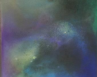 Peinture abstraite, peinture acrylique, œuvre d'art moderne, art abstrait, unique en son genre