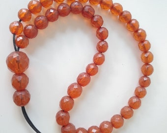 Baltic Amber Faceted Bead Islamic Prayer 39 Grams.