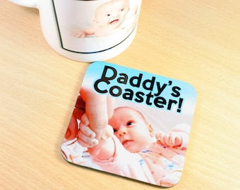 Personalised Photo/ Text Drinks Coaster
