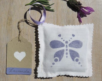 Small scented pillow, lavender profumabiancheria, smells drawers, smells hanging cupboards, lavender bag