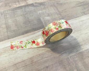 Floral Gold foiled washi tape