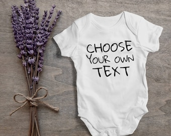 Choose your own text,funny baby bodysuit,one piece,humor,new born,cute,burp,outfit,game ,baby shower gift,cute baby,cute gift