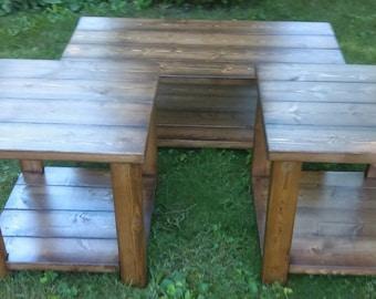 Custom Living Room Table Set