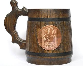 Prancing Pony mug LOTR gift Hobbit mug Prancing Pony Pub Inspired barware pint stein Prancing pony gift Great Gift for LOTR and Hobbit Fans!