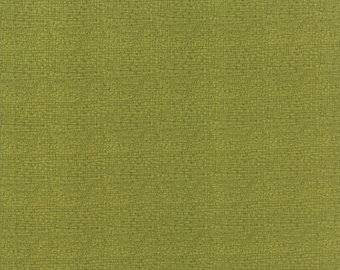Dear Mum - Green Woven Texture Fabric - Robin Pickens - Sold by Half Yard