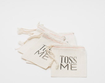 Toss Me Bags (10), Wedding Exit, Wedding Send Off
