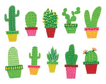 Cactus A4 Print
