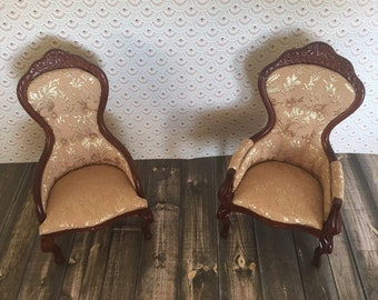 Vintage Dollhouse Chairs