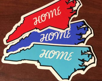 North Carolina Home stickers