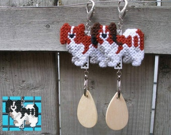 Papillon crate tag - dog kennel art or hang anywhere, Magnet option, Your choice of color
